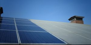 Solaranlagenreinigung Vorher Nachher
